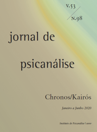 Jornal de Psicanálise – Edição 98 – Jornal de Psicanálise